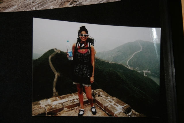 Elya on the Great Wall