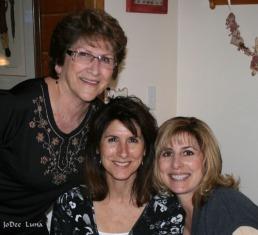 Mom, Me, and Sis Gina