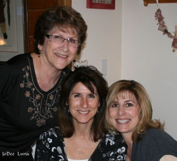Mom, Me, and Sis Gina