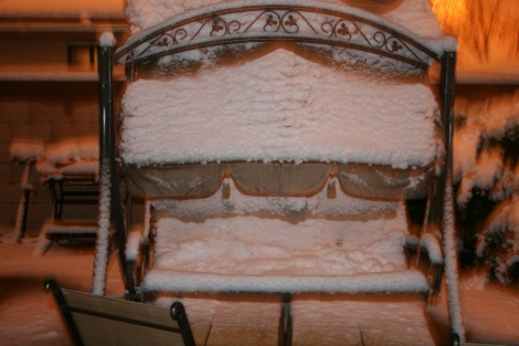 Last Year's Snowfall