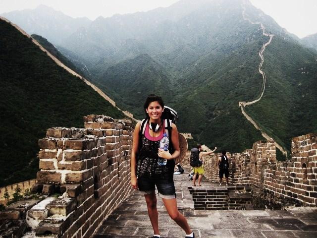 Elya's Global Studies Major required overseas studies