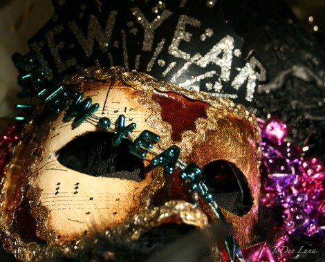 New Year Mask
