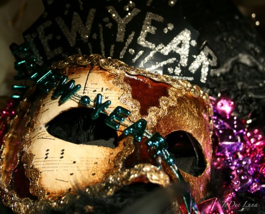 New Year Mask