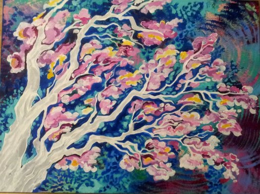 Cherry Blossom Tree Elya Filler