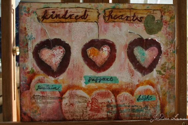 Kindred Hearts Mixed Media