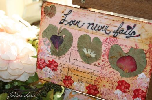 Love Never Fails Mixed Media