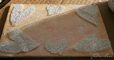 Plaster Cloth Mixed Media