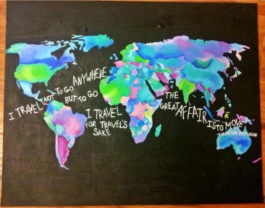 Travel The World by Elya Filler