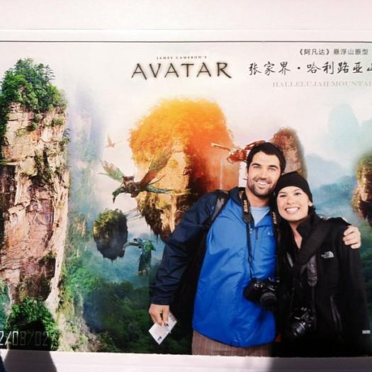 Where Avatar was filmed in Zhangjiajie, China.Chad Elya