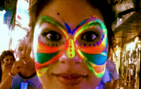 Elya Face Painted