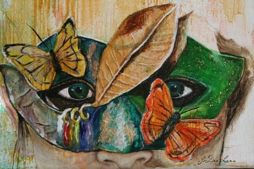 Forest Adventure Mask Portrait