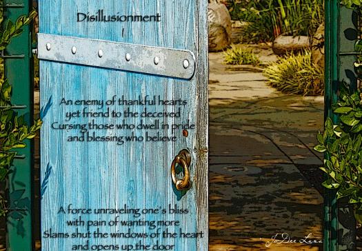 Disillusionment  Open Door