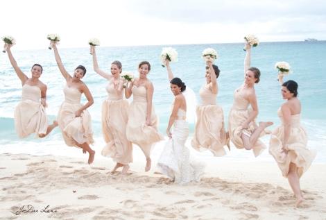 Bridesmaids Jump