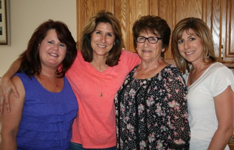 Sisters, Mom, and Me