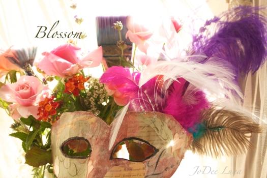 Blossom Masquerade Mask by JoDee Luna