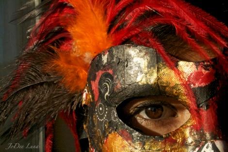 Warrior Princess Masquerade Mask