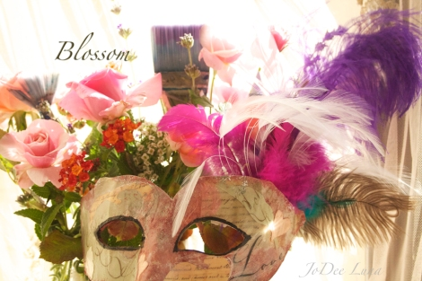 Blossom Masquerade Mask