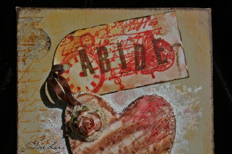 Abide Mixed Media by JoDee Luna