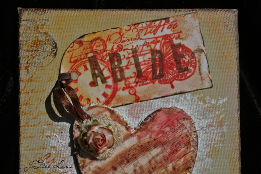 Abide Mixed Media by JoDee Luna