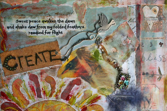 Create Mixed Media by JoDee Luna