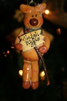 Dough Art Reindeer