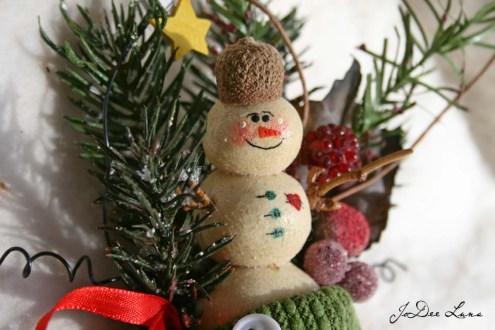 Salt Dough Ornament in Stocking