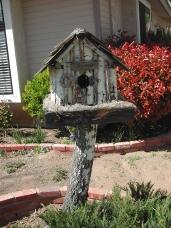 Dads White Birch Birdhouse